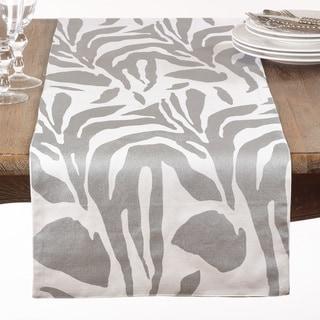 Metallic Animal Print Table Runner