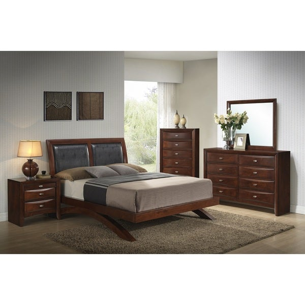 Shop Emily 111 Wood Arch-Leg Bed Group With King Bed