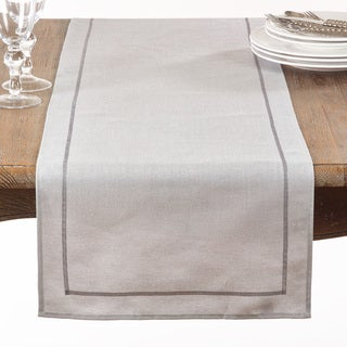 Shimmering Fabric Table Runner