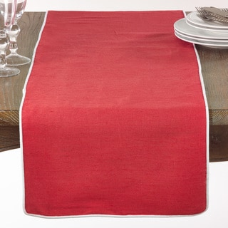 Classic Table Runner With Piping