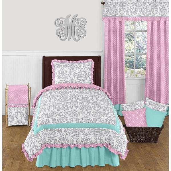 Sweet Jojo Designs Skylar Twin 4-piece Comforter Set