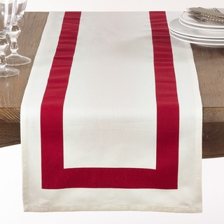 Banded Border Table Runner