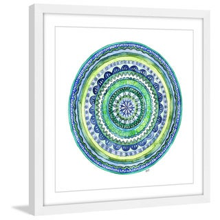 Marmont Hill - 'Mosaic' by Rachel Byler Framed Painting Print