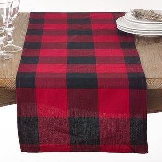 Link to Cotton Table Runner with Buffalo Plaid Pattern Similar Items in Table Linens & Decor