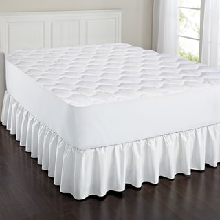 Triple Layer Cotton Touch Quilted Mattress Pad
