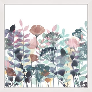 Marmont Hill - 'Winsome Flora II' Framed Painting Print