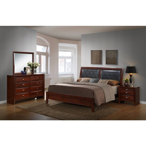 Emilie Bedroom Collection: Shop Emily Contemporary Wood Bedroom Set With Bed, Dresser
