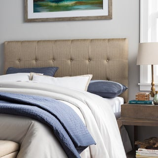 Humble + Haute Stratton Brown Upholstered Headboard