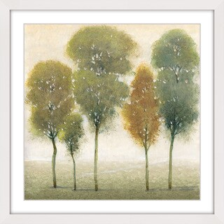 Marmont Hill - 'Beyond the Trees I' Framed Painting Print - Multi