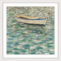 Marmont Hill - 'On the Pond I' Framed Painting Print - Multi