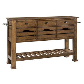 The District Industrial Copper Finish Sideboard