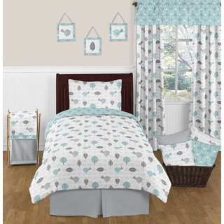 Sweet Jojo Designs Earth and Sky Twin 4-piece Comforter Set