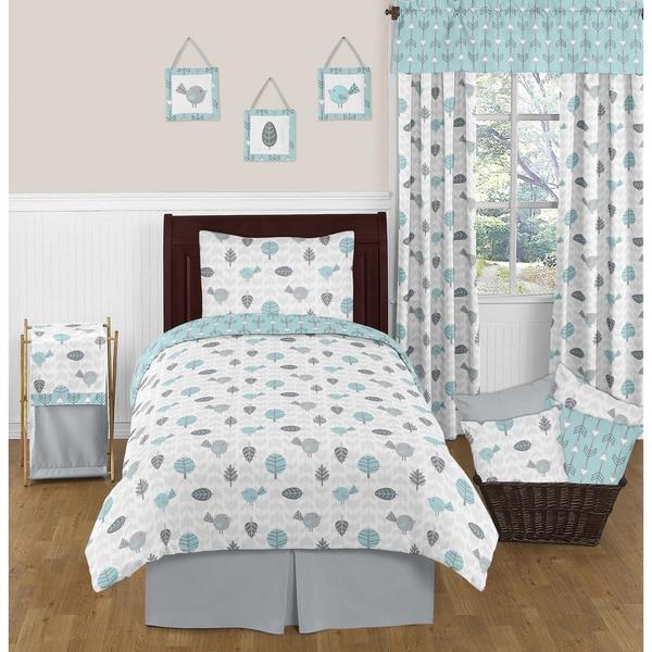 Sweet Jojo Designs Earth and Sky Twin 4-piece Comforter Set