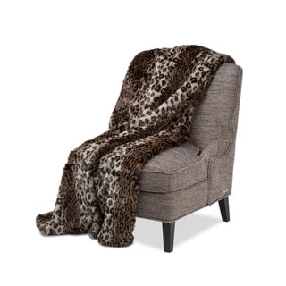 Michael Amini Berkshire Faux Fur Throw
