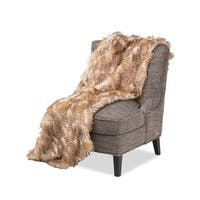 Michael Amini Breckenridge Faux Fur Throw