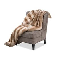 Michael Amini Napoli Faux Fur Throw