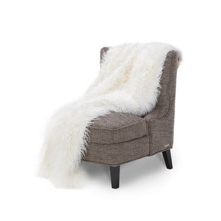Michael Amini Sasha Faux Fur Throw