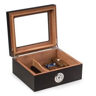 Espresso Wood 50-cigar Humidor