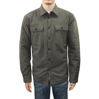 Men's Sherpa Lined Button Down