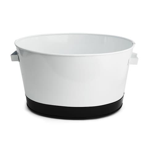 Swoop Stainless Steel Beverage Tub