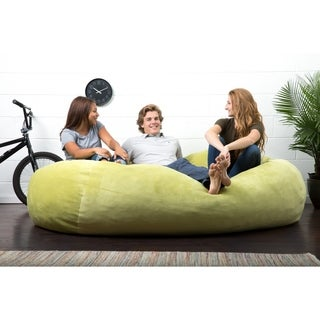 FufSack Big Joe Lux XXL Textured Memory Foam Bean Bag Chair