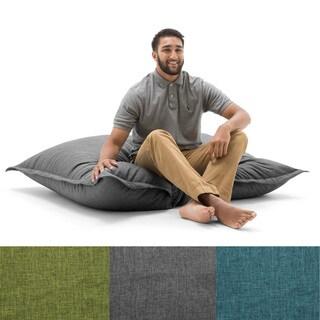 BeanSack Big Joe Lux Polyester Large Floor Pillow Bean Bag