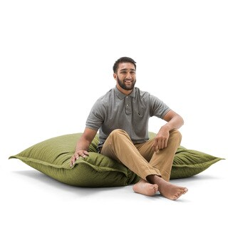 BeanSack Big Joe Lux Polyester Large Floor Pillow Bean Bag