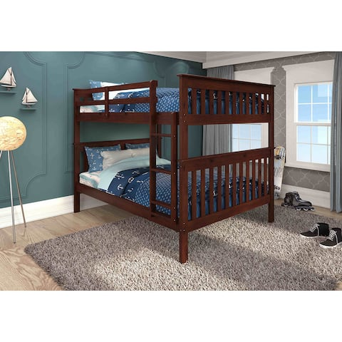Donco Kids Mission Pine Full-over-full Bunk Bed