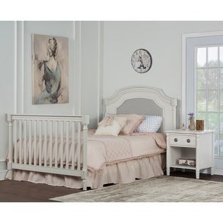 Evolur Universal Cream Wooden Convertible Crib Full-size Bed Rail