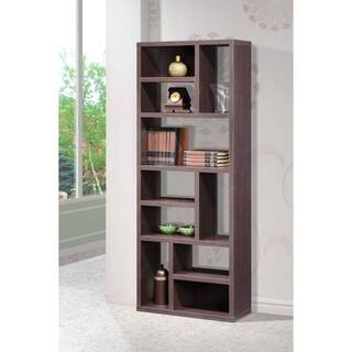 bookcases bookcase modern organizer wood home cube office modernrustic weathered pin furniture betterhomesandgardens storage