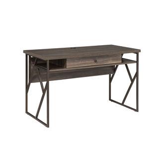 Studio Living Dark Weathered Gray Writing Desk