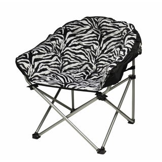 Urban Shop Zebra Club Chair