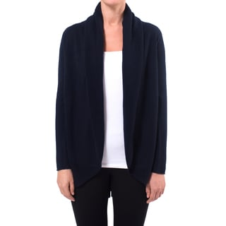 Premise Cashmere Women's Shawl Collar Cashmere Cardigan