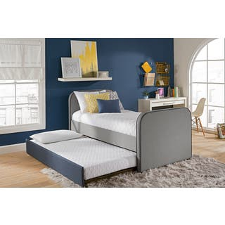 DHP Jesse Twin Bed with Trundle. Metal Kids    Toddler Beds For Less   Overstock com