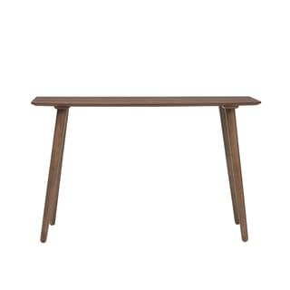 Euro Style Beckett Rectangle American Walnut Console Table