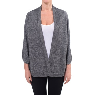 Premise Cashmere Women's Dolman Sleeve Cashmere Cardigan
