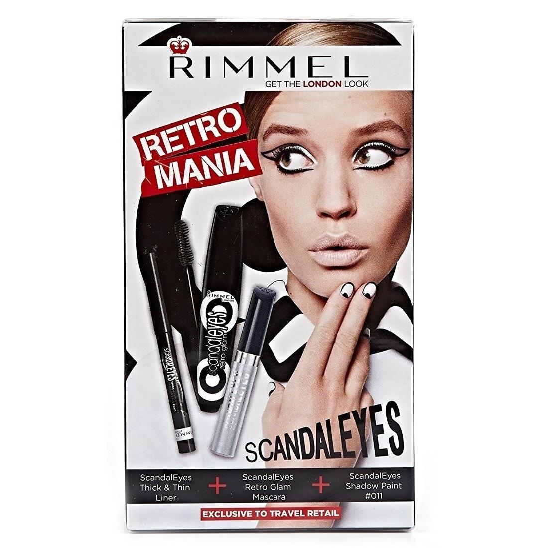 Rimmel Retro Mania Scandal Eyes 3-piece Kit (1 Set each),...