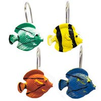 Hand Crafted Sea Life Shower Curtain Hook Set- 12 Pack