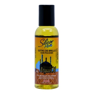 Silicon Mix Moroccan Argan Oil Gotas De Brillo 4-ounce Hair Polisher