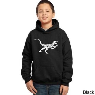 Boys' Velociraptor Hooded Sweatshirt (More options available)