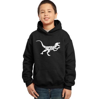 Boys' Velociraptor Hooded Sweatshirt