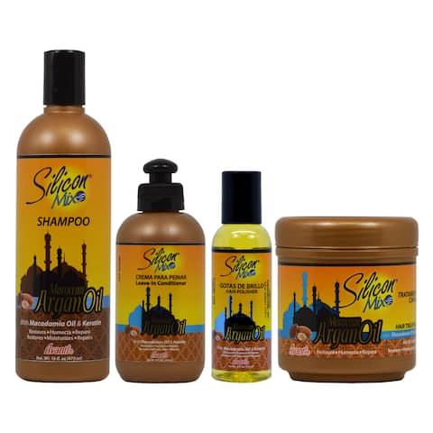 Silicon Mix Moroccan Argan Oil 4-piece Set