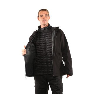 The North Face Men's TNF Black Thermoball Triclimate Jacket