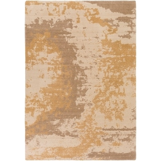 Meticulously Woven Vicente New Zealand Wool / Nylon Rug (2' x 2'9)