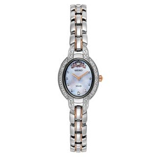 Seiko Women's SUP327 Misty Copeland Limited Edition Stainless Steel and Diamond Solar Watch https://ak1.ostkcdn.com/images/products/12994846/P19740897.jpg?impolicy=medium