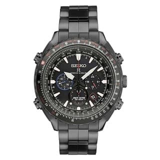 Seiko Men's SSG007 Stainless Steel Radio Controlled Limited Edition 0068/2000 Patriots Jet Watch|https://ak1.ostkcdn.com/images/products/12994848/P19740899.jpg?impolicy=medium