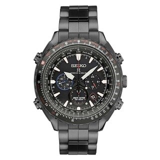 Seiko Men's SSG007 Stainless Steel Radio Controlled Limited Edition 0068/2000 Patriots Jet Watch