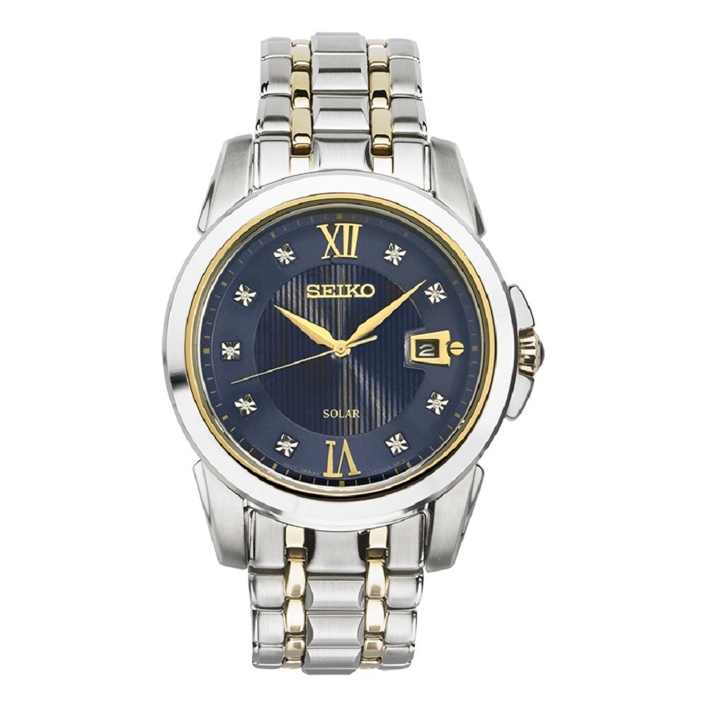 Seiko Men's SNE428 Le Grand Sport Stainless Steel and Dia...