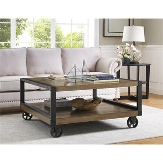Altra Wade Wood Veneer Coffee Table