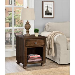 Altra San Antonio Wood Veneer End Table